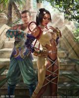 Mobius FF - Dona and Barthello