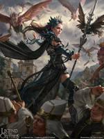 Legend of the Cryptids - Zara adv.
