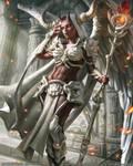 Mobius Final Fantasy - Morrigan by anotherwanderer