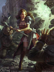 Legend of the Cryptids - Orzorla adv.