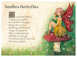 Sandbox Butterflies by LualaDy