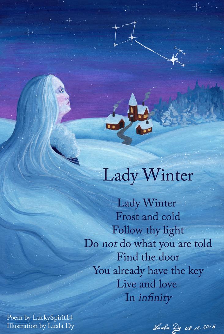 Lady Winter by LualaDy