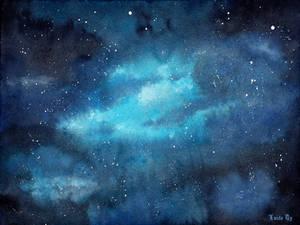 Blue skies bluuuue skies by LualaDy