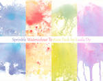 Spinkle Watercolour Texture Pack