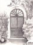 Inktober17 16(finished on the 17) Secret Entrance