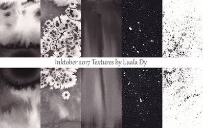 Inktober 2017 Texture Pack by LualaDy