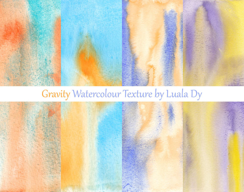 Gravity Watercolour Texture Pack by LualaDy
