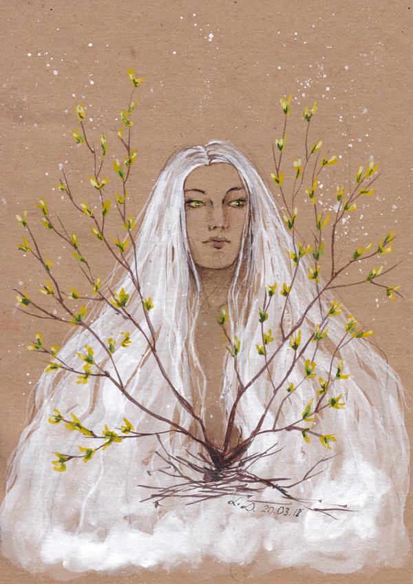 Nature awakening [Mar18 Patreon Reward] by LualaDy
