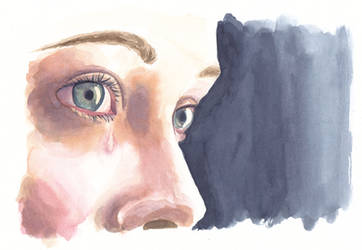 Eyes Study Watercolour by LualaDy
