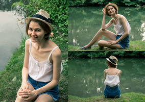 Thrifted Quick Fix: White Top by LualaDy