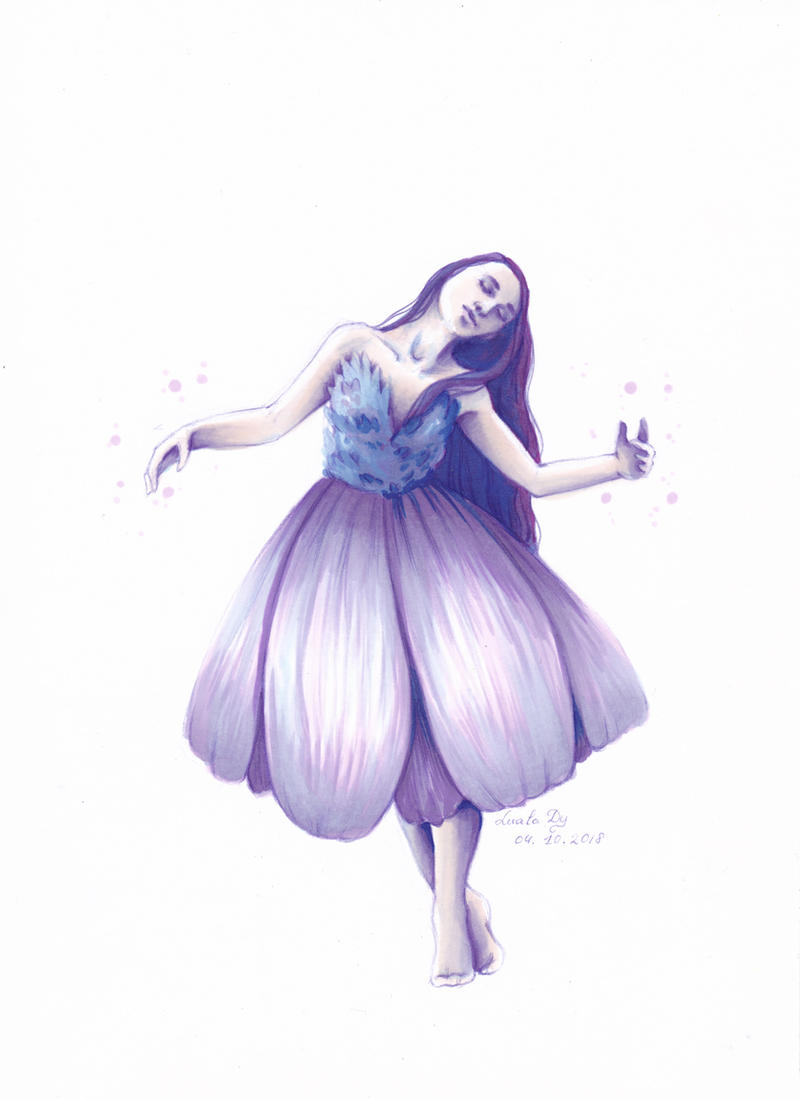 Inktober18 Day4: Fairy