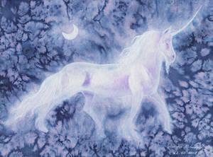 Inktober18 Day22 Clestial Unicorn (collab) REDUX