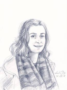 Scarf Portrait (commission)
