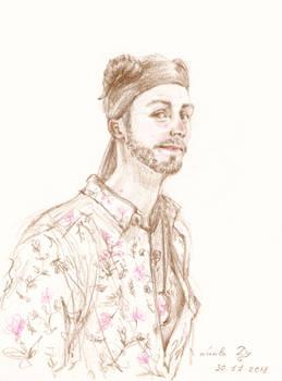 Faun (portrait commission)