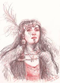 Warrior (portrait commission)