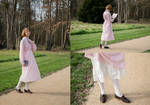Upcycled Pink Dress by LualaDy