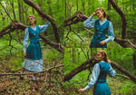 The Teal Waistcoat by LualaDy