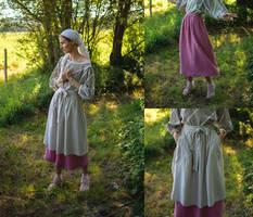 Handmade Skirt and Apron