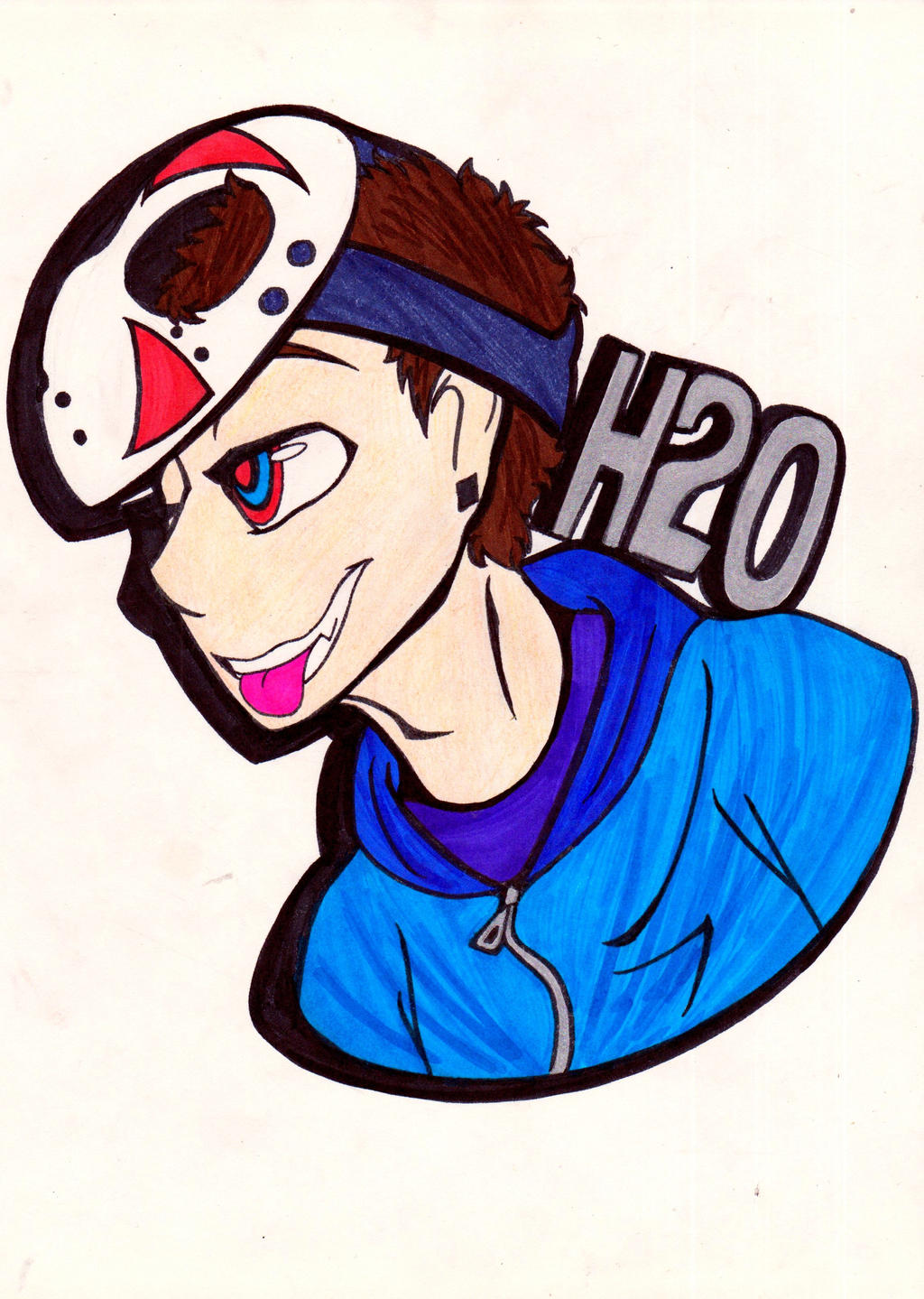 Why So Delirious? by WhiteWolf0798 on DeviantArt H20 Delirious Fan Art