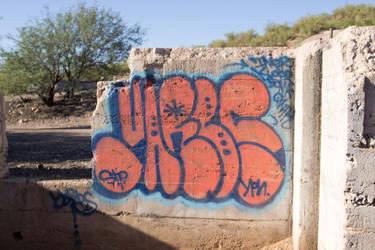 SASCO (Abandoned) Mine - Graffiti by jonathanz