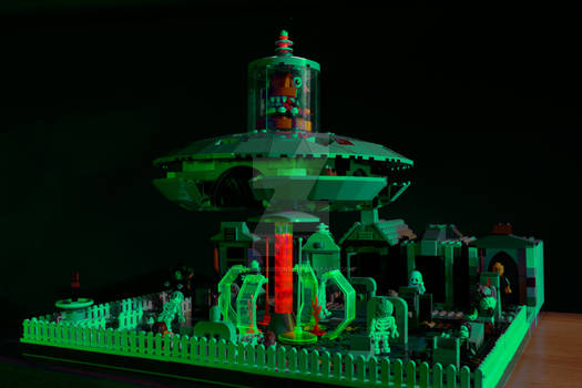 Lego Plan 9 from Outer Space (Green Glow 1)