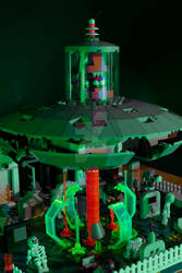 Lego Plan 9 from Outer Space (Green Glow 2)