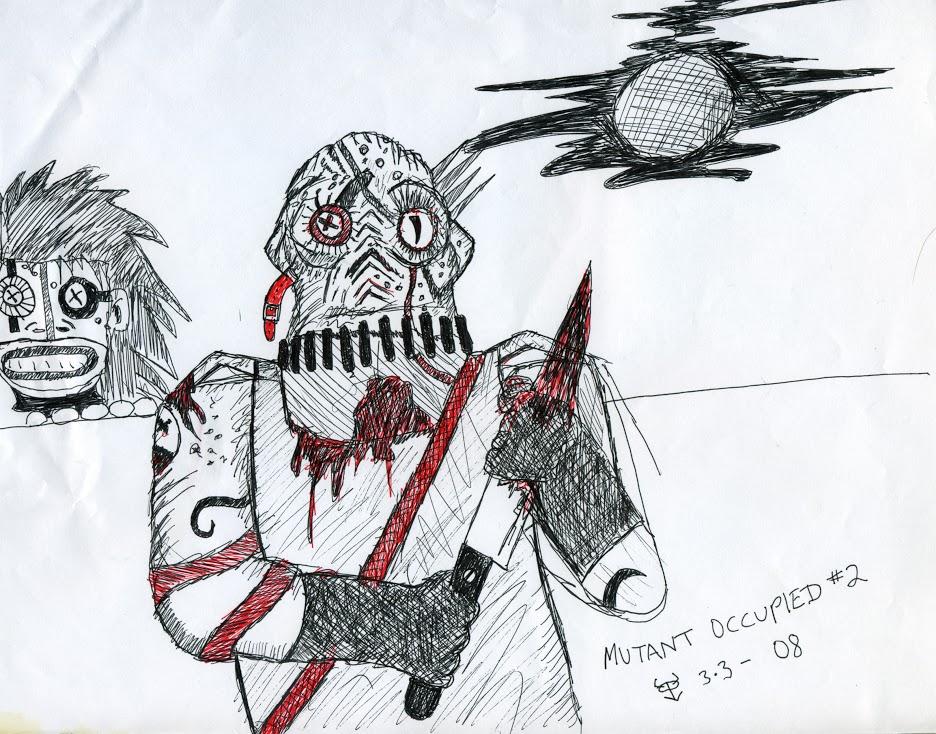 BCA mutant occupied 2 by ThyBizarreAlien