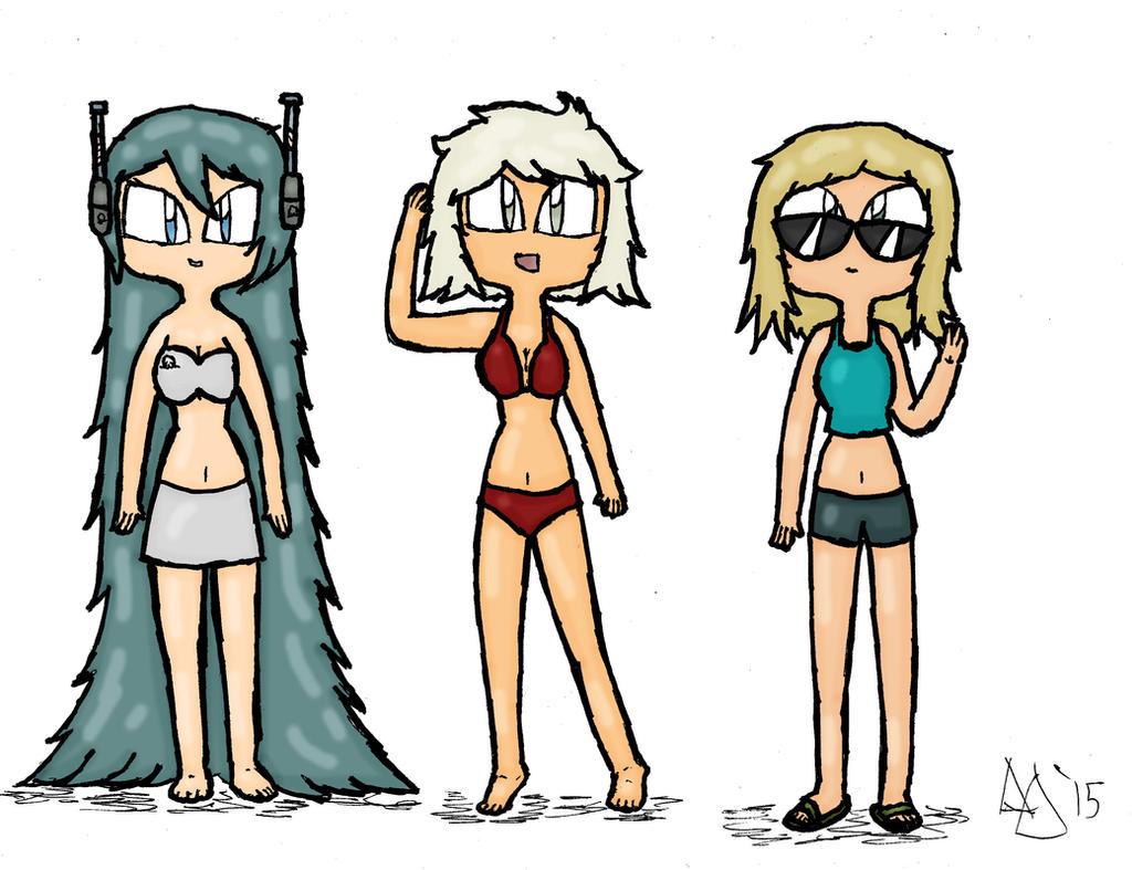 TBD - Bikini Day by MrCoolDD
