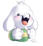 Asriel is Happy!