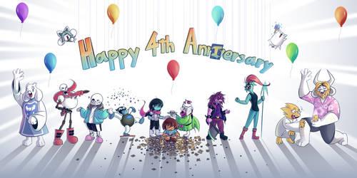 Happy 4th AnnXversary, Undertale!