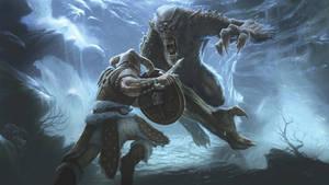 Dragonborn v. Frost Troll
