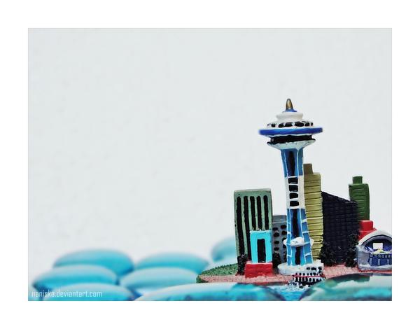 Sinking Seattle by NanisKa
