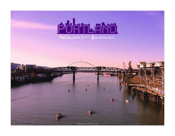 PDX Postcard by NanisKa
