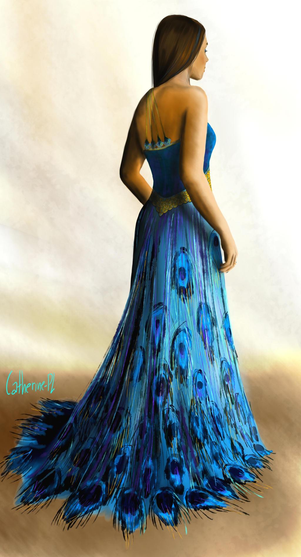 Hermione Granger Yule Ball Dress Yule Ball Dress Back by