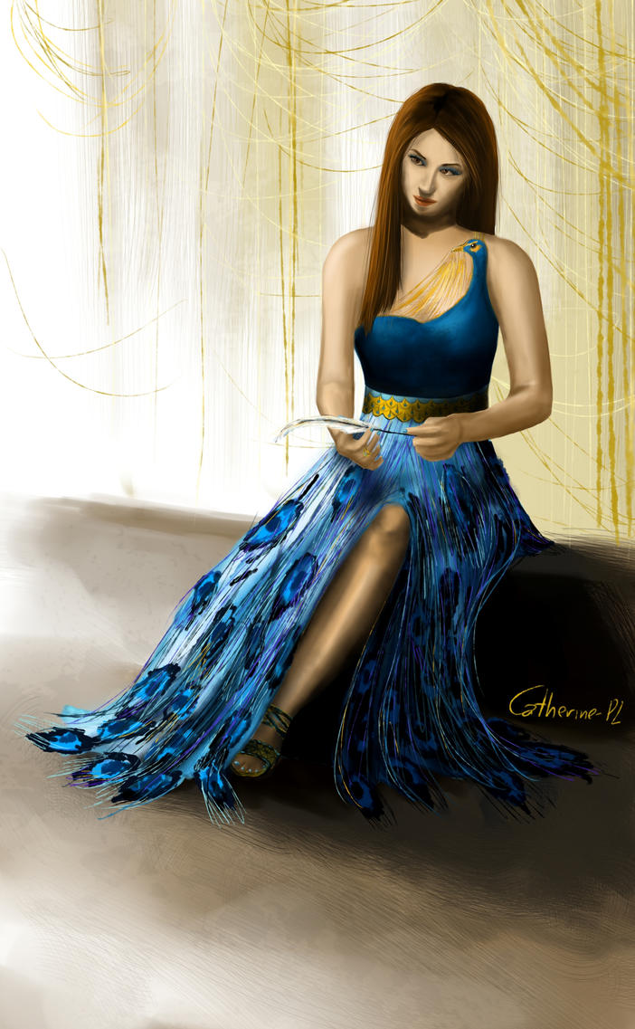 Yule Ball , Hermione\u0027s Dress (Front) by