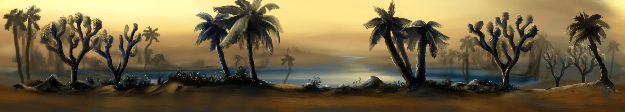 Desert background by Catherine-PL