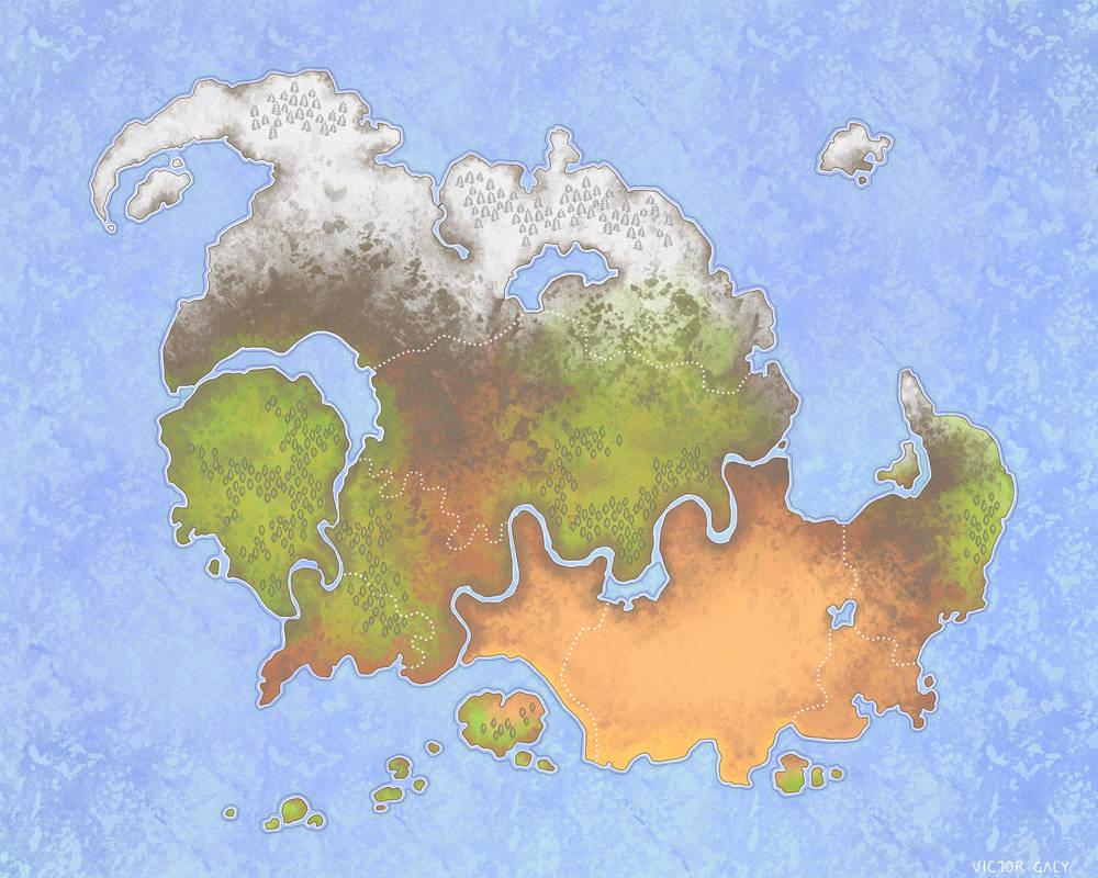 Imaginary map