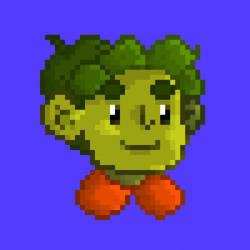 character pixelart portrait