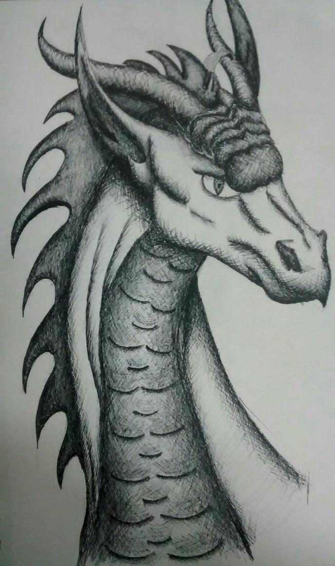 dragon  by Eglor64