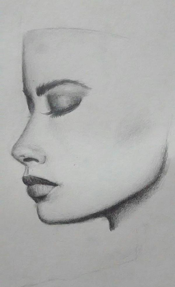 portrait practice  by Eglor64