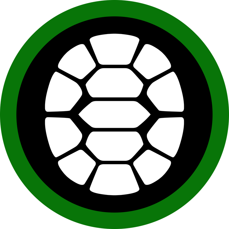 Ninja turtle shell logo - photo#4