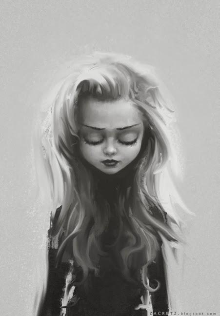 Wonderful Girl Paint 01 By Zacretz ...
