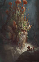 Forest spirit by zacretz