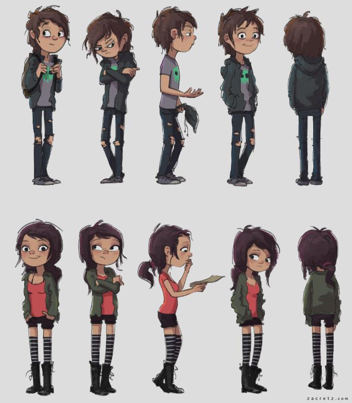 Best Cartoon Character Design : Kor characters by zacretz on deviantart