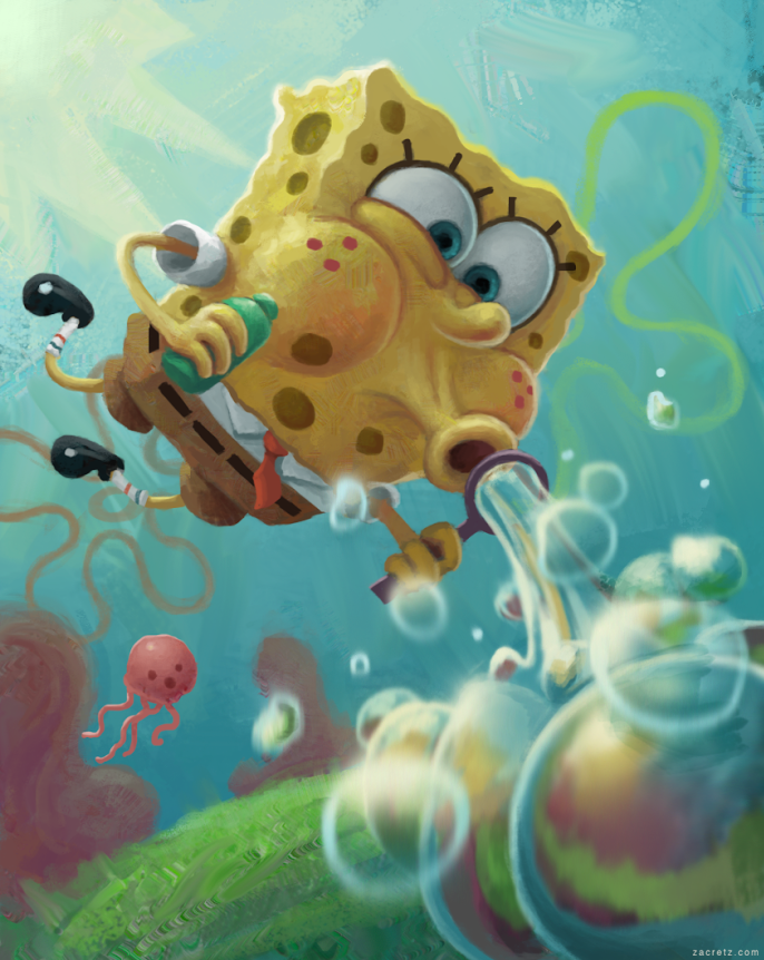 Spongebob by zacretz