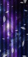 Custom Box BG: Purple Galaxy
