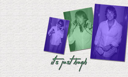Just Hugh by PaulaGingersnap