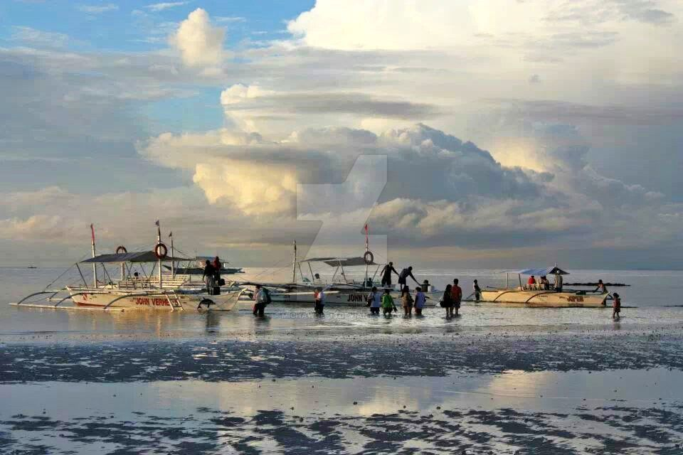 Bangka ng mangingisda by Michawolf13