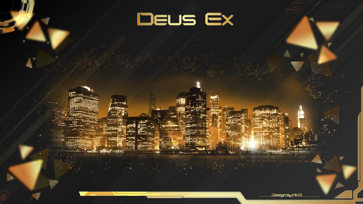 Deus Ex Style by HirOinEvOl