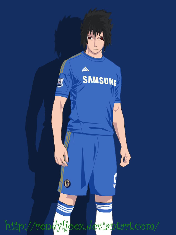 Sasuke Chelsea Jersey by RendyLJoex